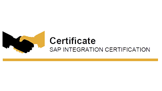 Sap Integration Certificate